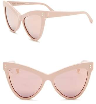 Stella McCartney 55mm Cat Eye Sunglasses