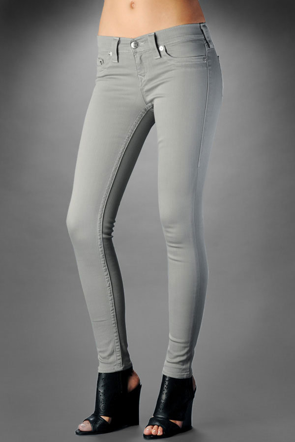Women's Casey Stretch Legging - Stone Grey