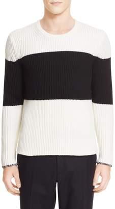 Rag & Bone 'Rosco' Stripe Rib Knit Sweater