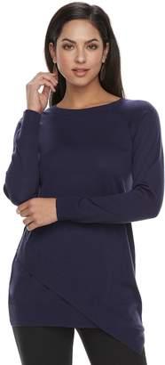 Apt. 9 Women's Asymmetrical Tunic Sweater