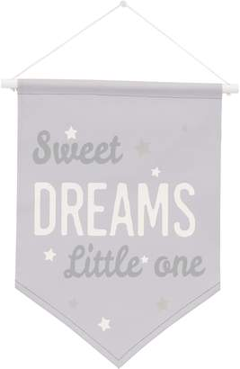 "NoJo Dreamer ""Sweet Dreams Little One"" Wall Banner"