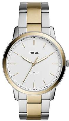 Fossil Men's 'The Minimalist 3H' Quartz Stainless Steel Casual Watch
