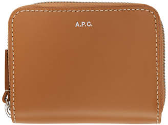 A.P.C. Brown James Compact Wallet