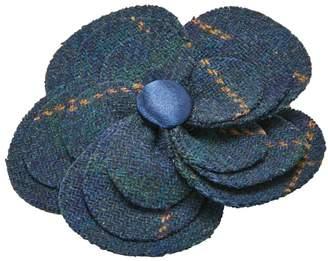 Joe Browns Navy Tweedy Corsage Pin