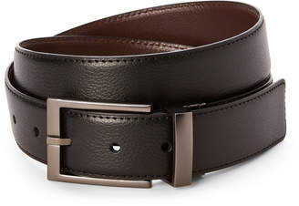 Calvin Klein Black & Brown Classic Reversible Leather Belt