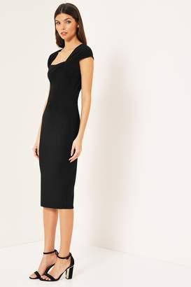 e8af3f84a8f Square Neck Bodycon Dress - ShopStyle UK