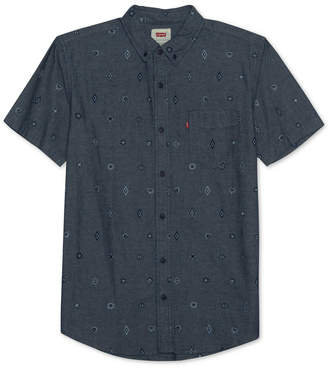 Levi's Men Geometric Pocket Shirt