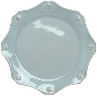 Juliska Berry & Thread Ice Blue Scalloped Dessert/Salad Plate