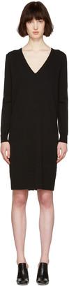 Proenza Schouler Black Button Back Dress $925 thestylecure.com