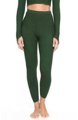 Adam Selman Rib Knit Leggings