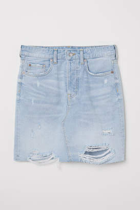H&M Denim Skirt - Blue