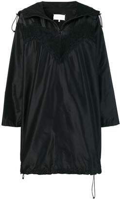 Maison Margiela lace raincoat dress