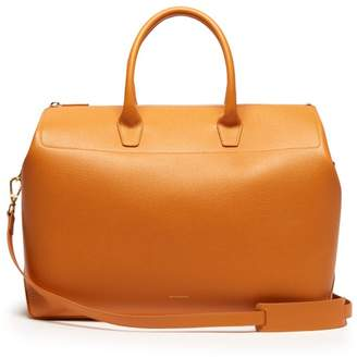 Mansur Gavriel Travel Large Leather Bag - Womens - Yellow Multi