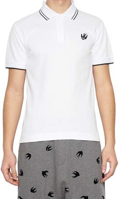 McQ 'swallow' Polo