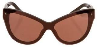 3.1 Phillip Lim x Linda Farrow Cat-Eye Tinted Sunglasses