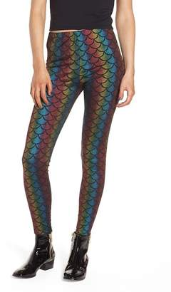 Jaded London Rainbow Mermaid Leggings