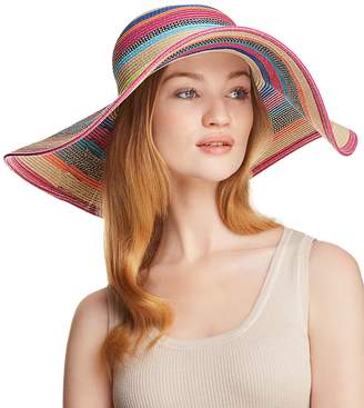 Echo Byron Striped Floppy Sun Hat