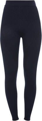 Sportmax Tegola Wool-Blend Leggings