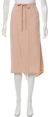 Sonia Rykiel Drawstring Midi Skirt