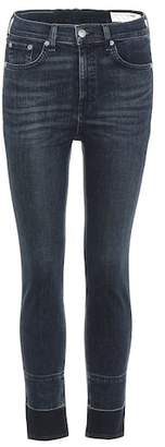 Rag & Bone High-waisted skinny jeans