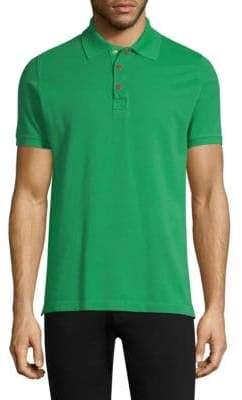 Kiton Short Sleeve Cotton Polo
