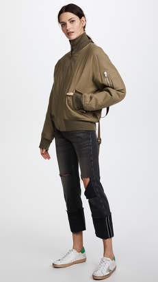 Helmut Lang Re-Edition High Collar Bomber Jacket