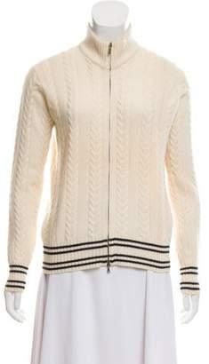 Loro Piana Cashmere Cable Knit Jacket