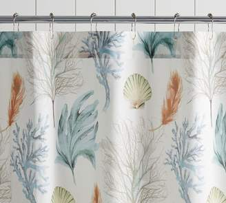 Pottery Barn Del Mar Shower Curtain