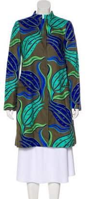 Versace Long Linen Coat w/ Tags
