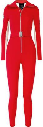 Cordova - The Aspen Striped Ski Suit - Red