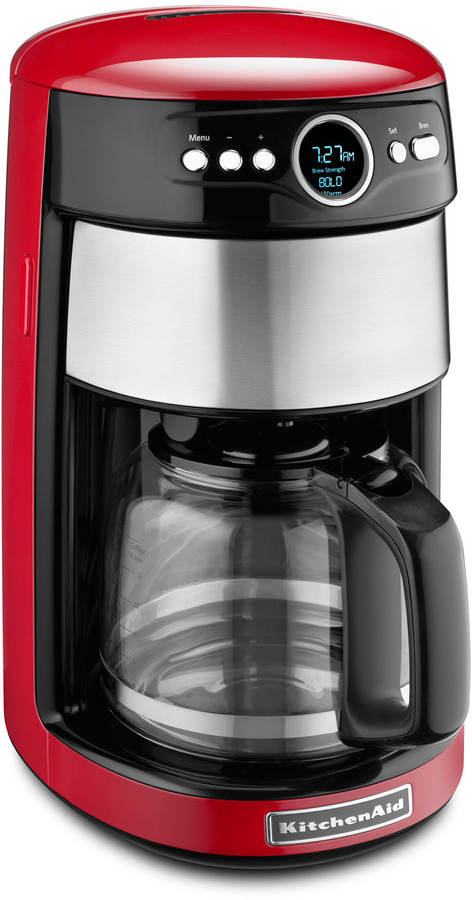KitchenAid Empire Red Coffee Maker