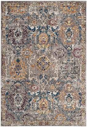 Safavieh BTL347A Adalicia Woven Area Rug, Polyester, Grey/Blue, 154 x 228 x 0.25 cm