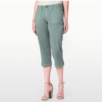 NYDJ MARILYN CROP IN TWILL IN PETITE