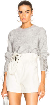 3.1 Phillip Lim Lace Up Sweater