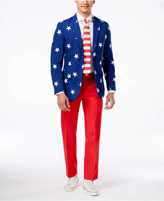 OppoSuits Stars & Stripes Slim-Fit Suit & Tie $99.99 thestylecure.com