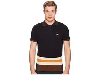 Vivienne Westwood Polo Sweater Men's Short Sleeve Pullover