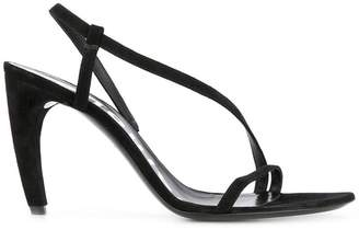 Asymmetrical Heeled Sandal