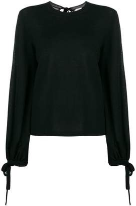 P.A.R.O.S.H. tie sleeves jumper