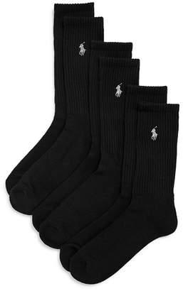 Ralph Lauren Sport Crew Socks, Set of 3