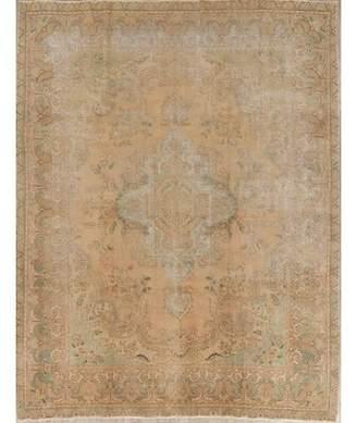 "Astoria Grand Antique Muted Miranda Persian Oriental Handmade Wool Distressed Rug 12'5""X9'7"" Astoria Grand"
