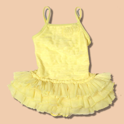 Kate Mack Yellow Tutu Cute Swimsuit
