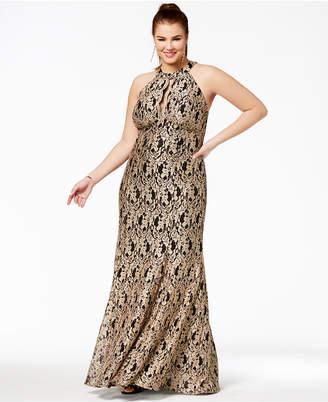 Plus Size Metallic Gold Dresses ShopStyle