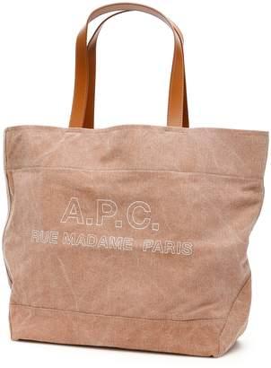 A.P.C. Ingride Denim Shopper