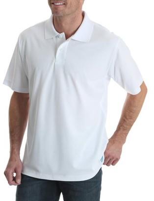 Wrangler Big Men's Short Sleeve Performance Polo