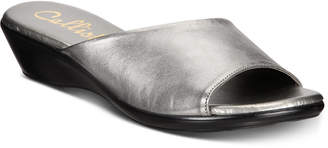 Callisto Cairo Slide Wedge Sandals
