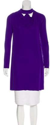 Roland Mouret Cutout Jersey Tunic