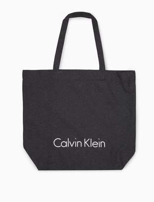 Calvin Klein sustainable logo tote bag