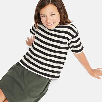 Uniqlo Girl's Striped Half-sleeve T-Shirt