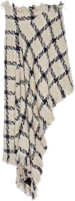 Monse Asymmetrical Tweed Cotton-Blend Skirt