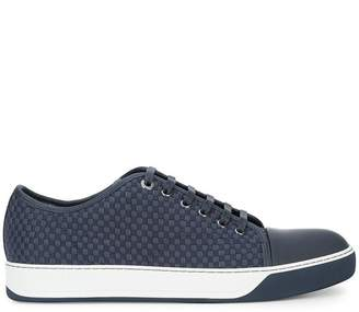 Lanvin woven low-top sneakers